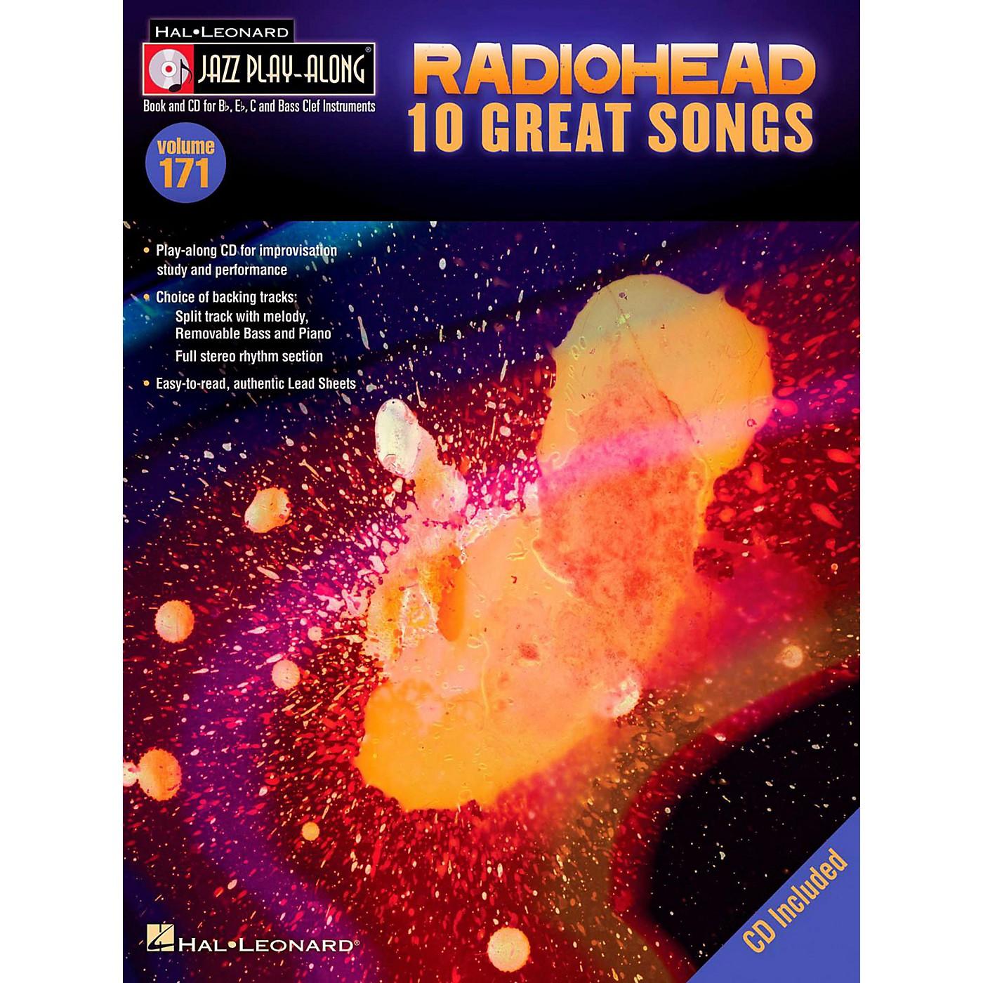 Hal Leonard Radiohead - Jazz Play-Along Volume 171 Book/CD thumbnail
