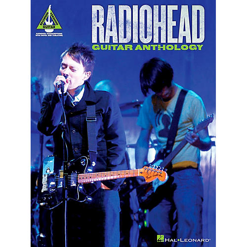 Hal Leonard Radiohead Guitar Anthology Guitar Tab Songbook thumbnail