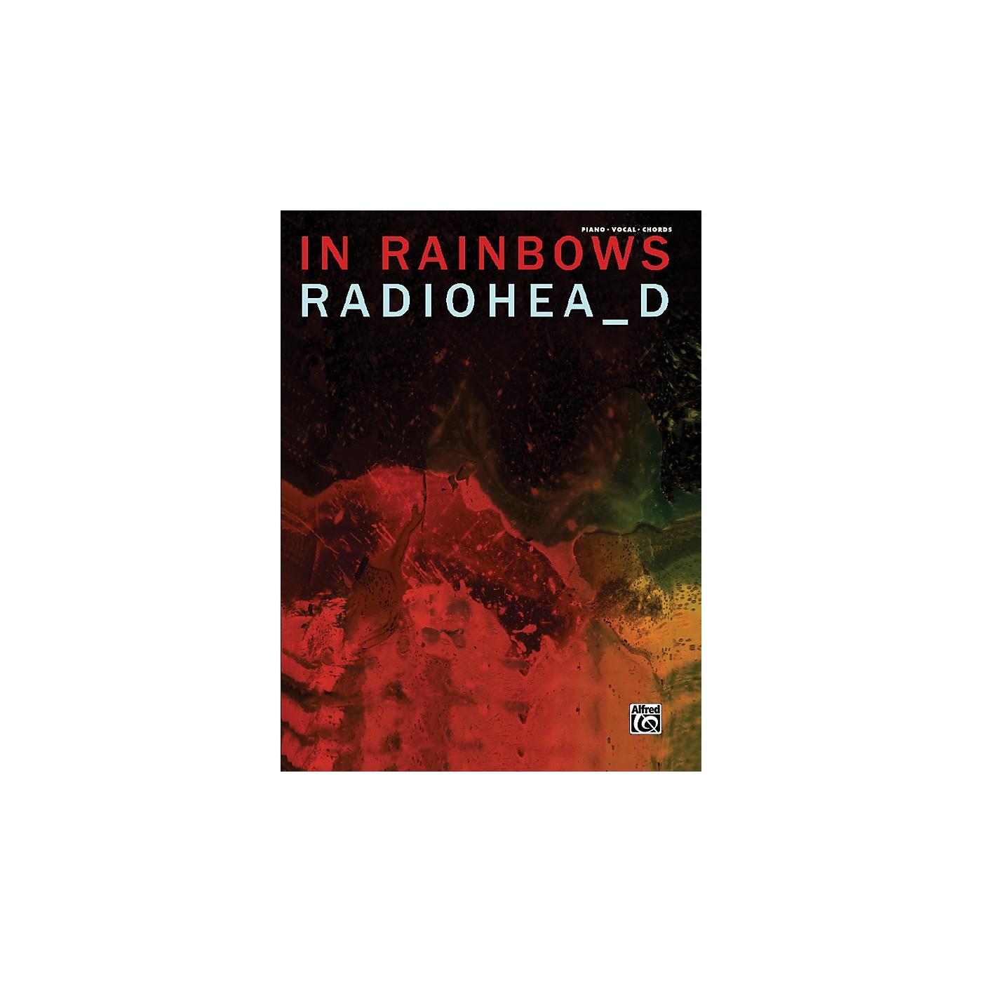Alfred Radiohead In Rainbows Piano Vocal Guitar Book thumbnail