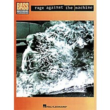 Hal Leonard Rage Against the Machine Bass Guitar Tab Songbook