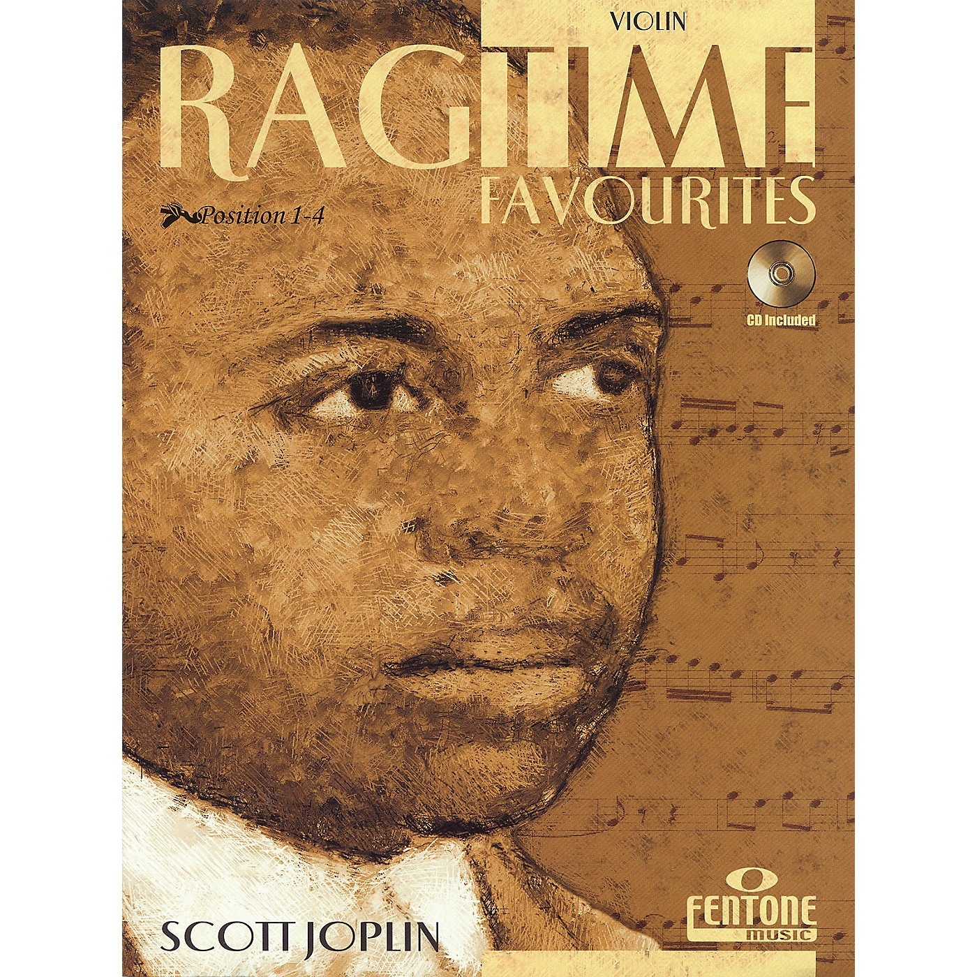 Fentone Ragtime Favourites by Scott Joplin Fentone Instrumental Books Series Softcover with CD thumbnail