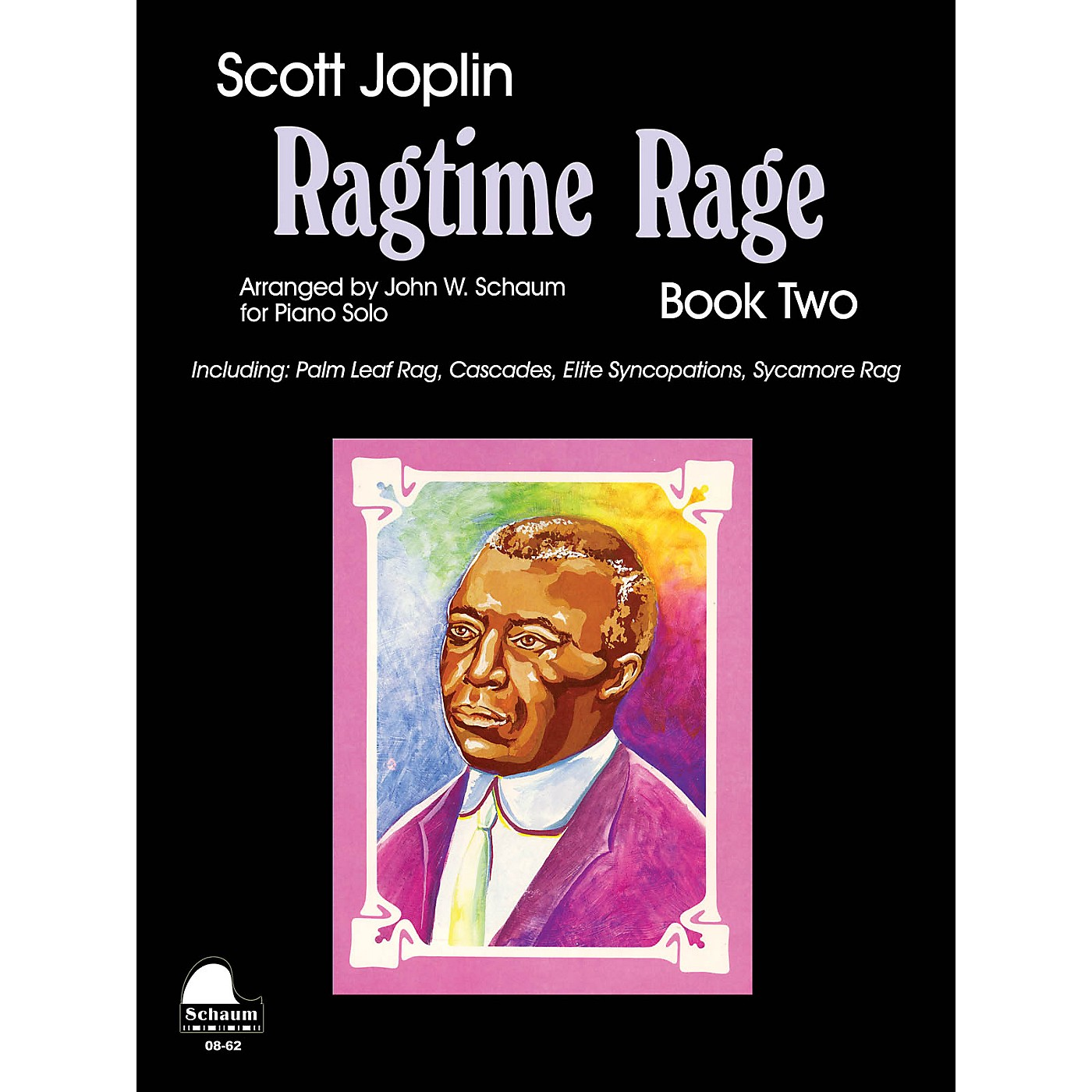SCHAUM Ragtime Rage, Bk 2 Educational Piano Series Softcover thumbnail