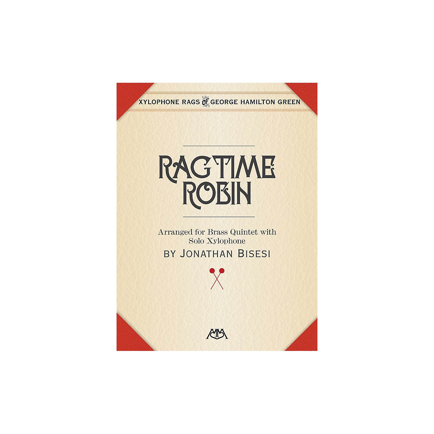 Meredith Music Ragtime Robin Meredith Music Percussion Series Book  by George Hamilton Green thumbnail