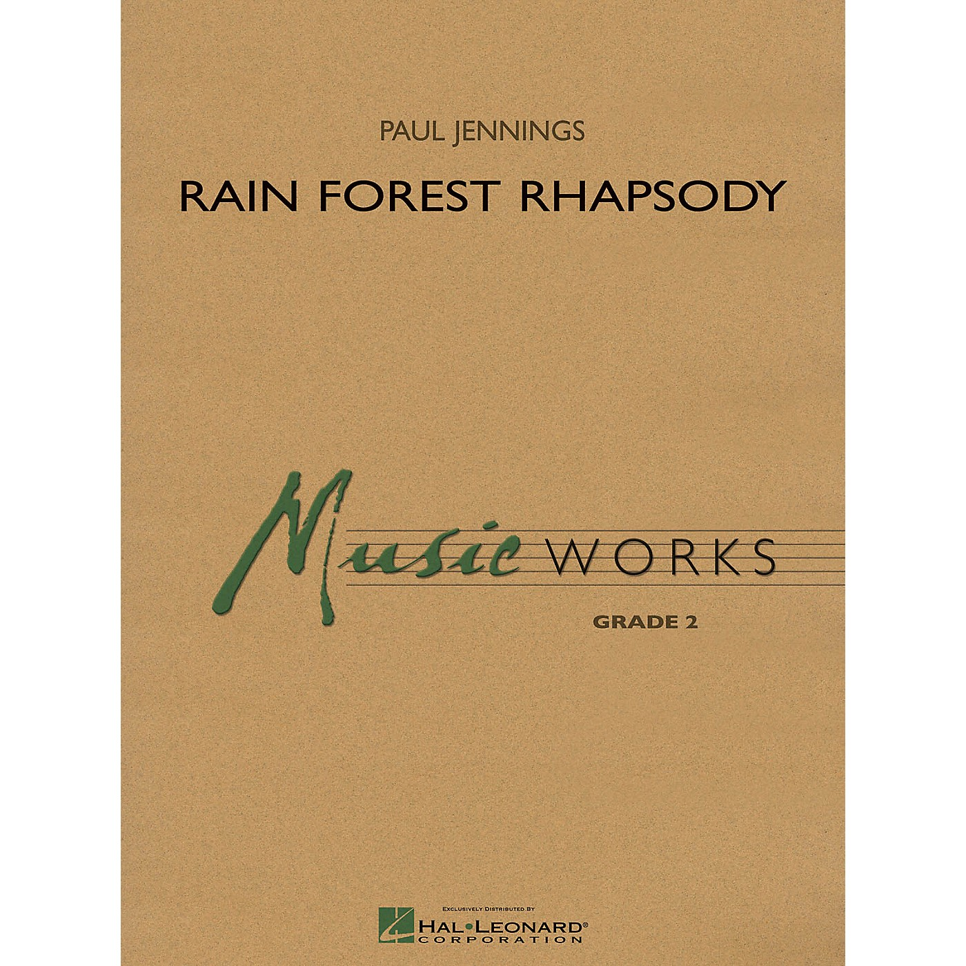 Hal Leonard Rain Forest Rhapsody Concert Band Level 2 Composed by Paul Jennings thumbnail
