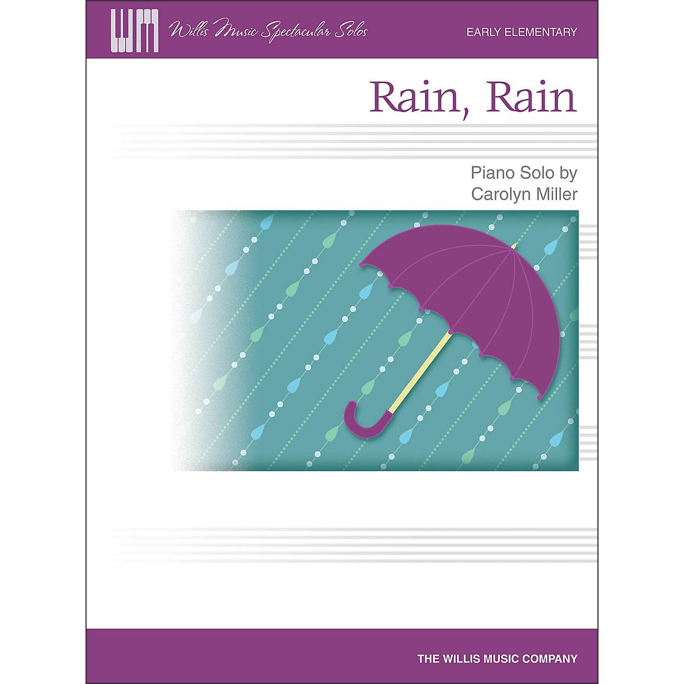 Willis Music Rain, Rain - Early Elementary Piano Solo Sheet thumbnail