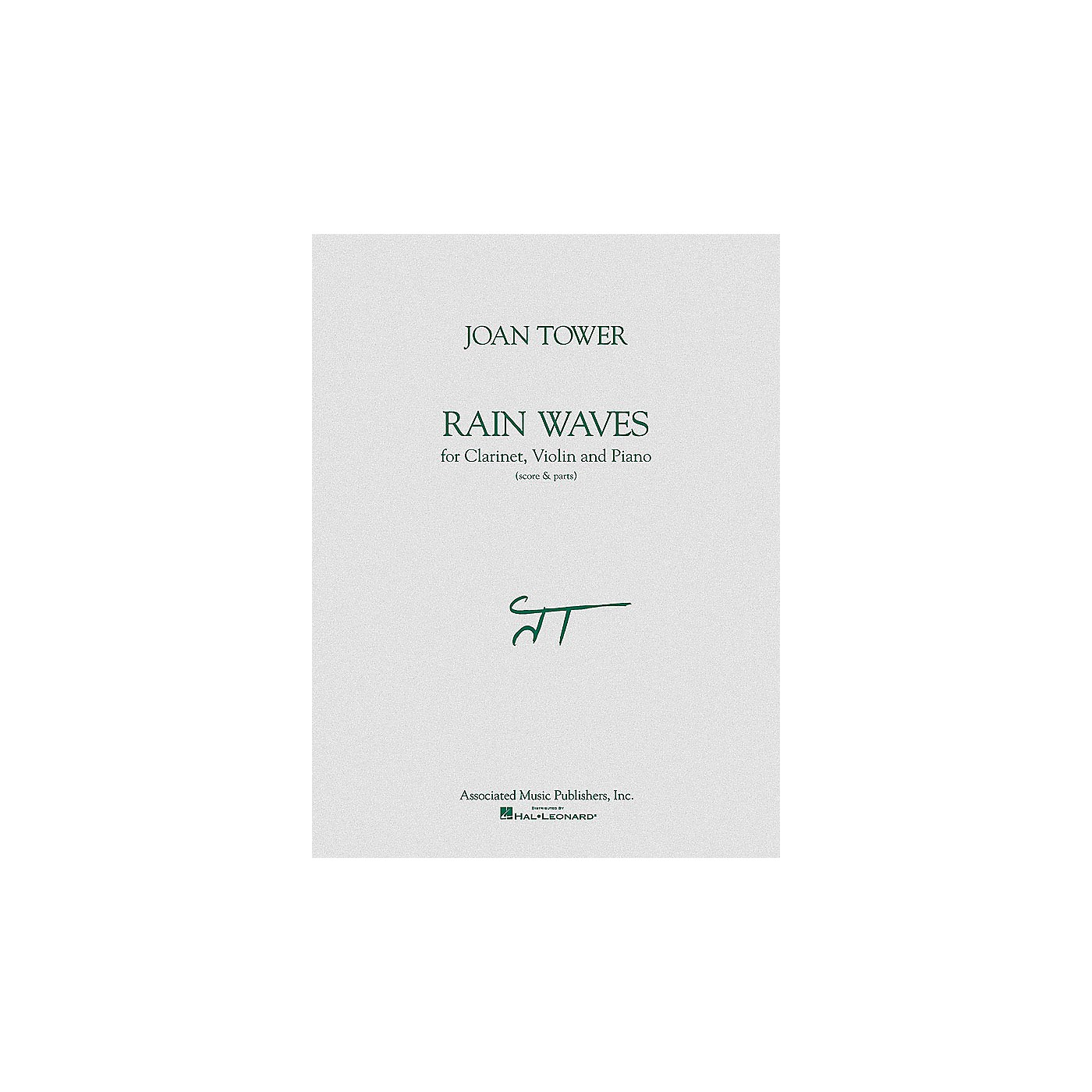 Associated Rain Waves (Score & Parts) Ensemble Series Composed by Joan Tower thumbnail