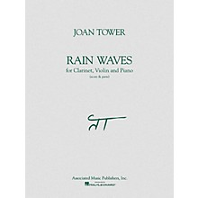 Associated Rain Waves (Score & Parts) Ensemble Series Composed by Joan Tower