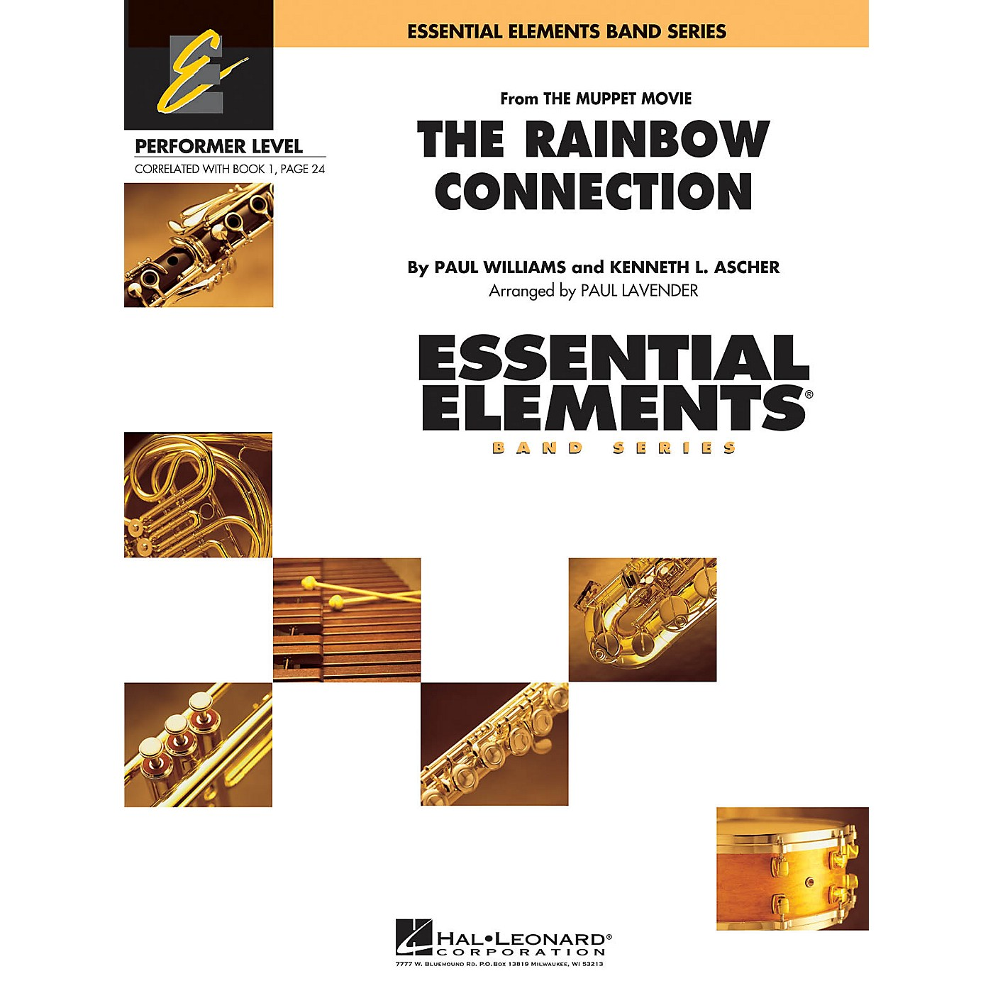 Hal Leonard Rainbow Connection Concert Band Level .5 to 1 Arranged by Paul Lavender thumbnail
