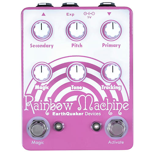 EarthQuaker Devices Rainbow Machine Polyphonic Pitch Mesmerizer Guitar Effects Pedal-thumbnail