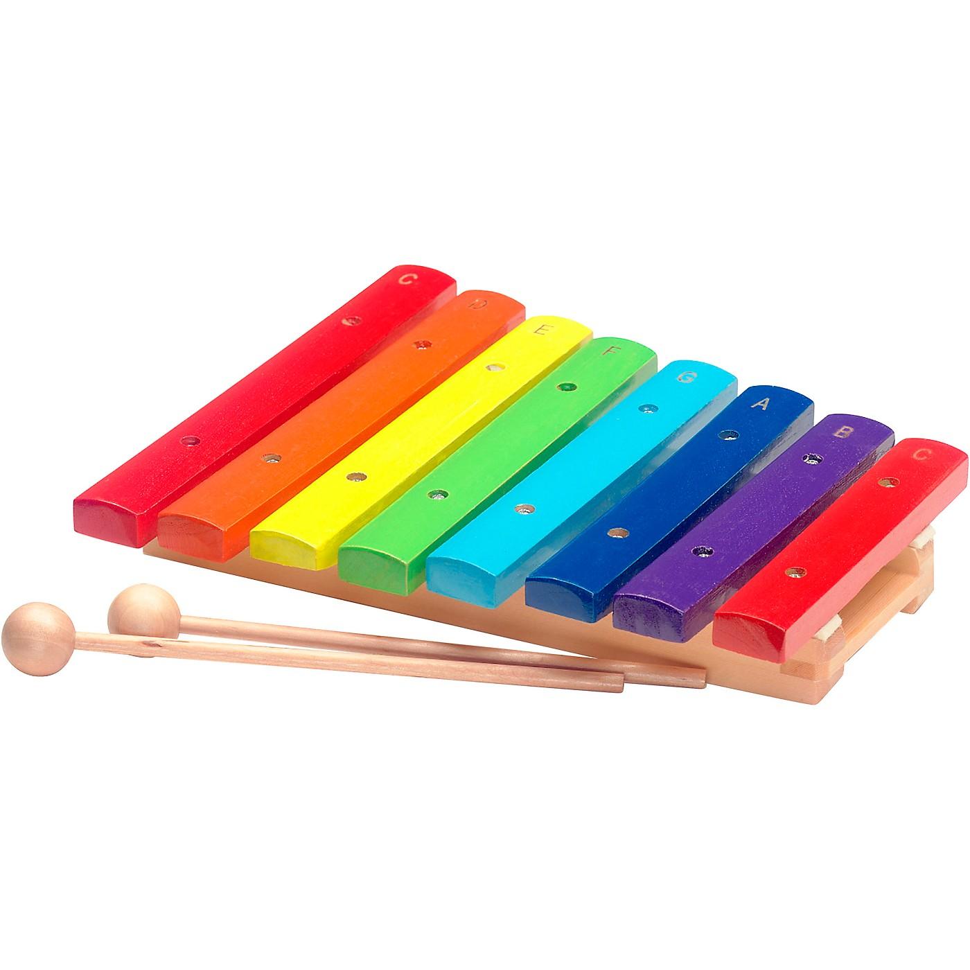 Stagg Rainbow Xylophone, 8 Keys, C-C thumbnail