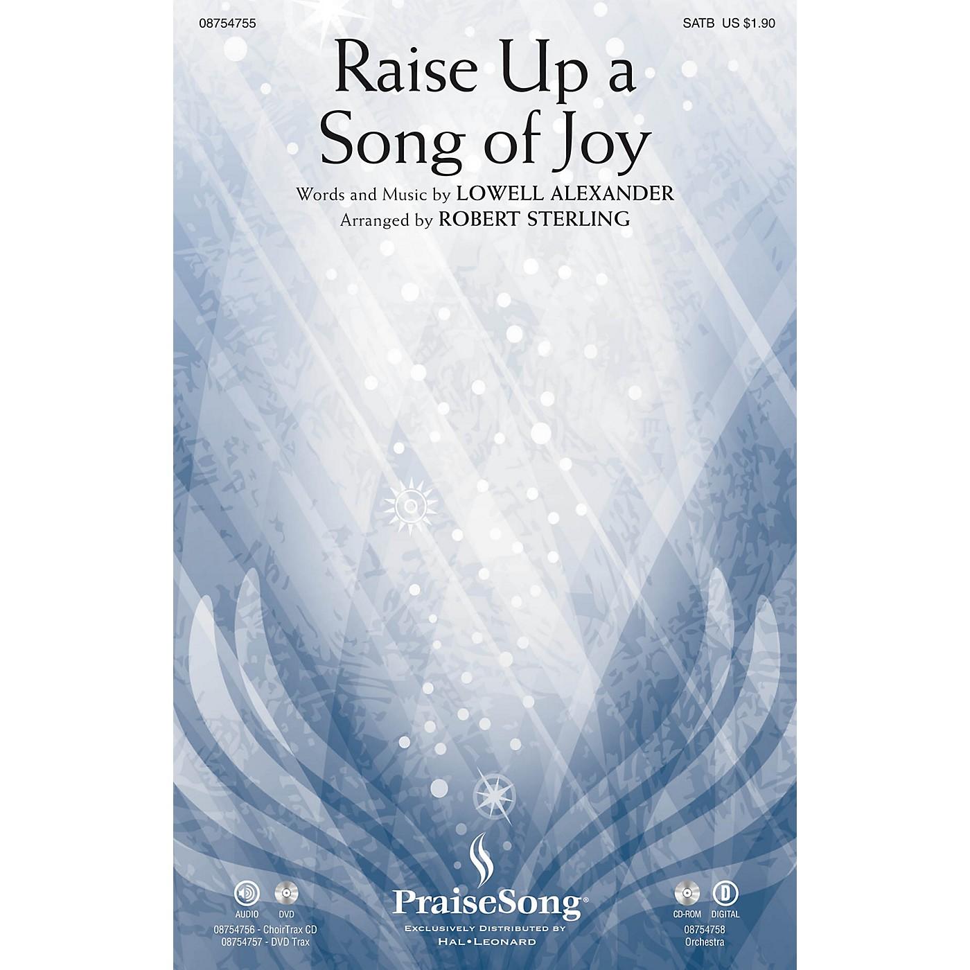 PraiseSong Raise Up a Song of Joy CHOIRTRAX CD Arranged by Robert Sterling thumbnail