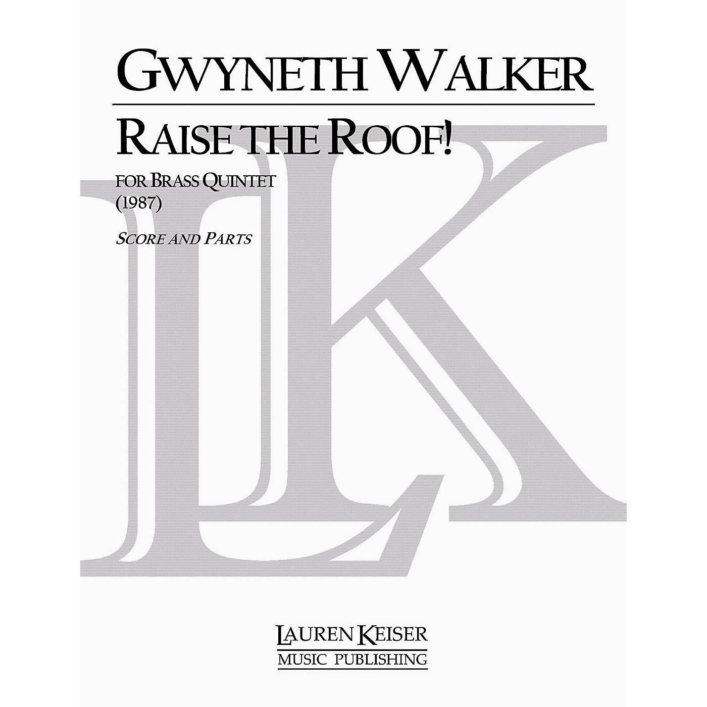Lauren Keiser Music Publishing Raise the Roof! LKM Music Series by Gwyneth Walker thumbnail