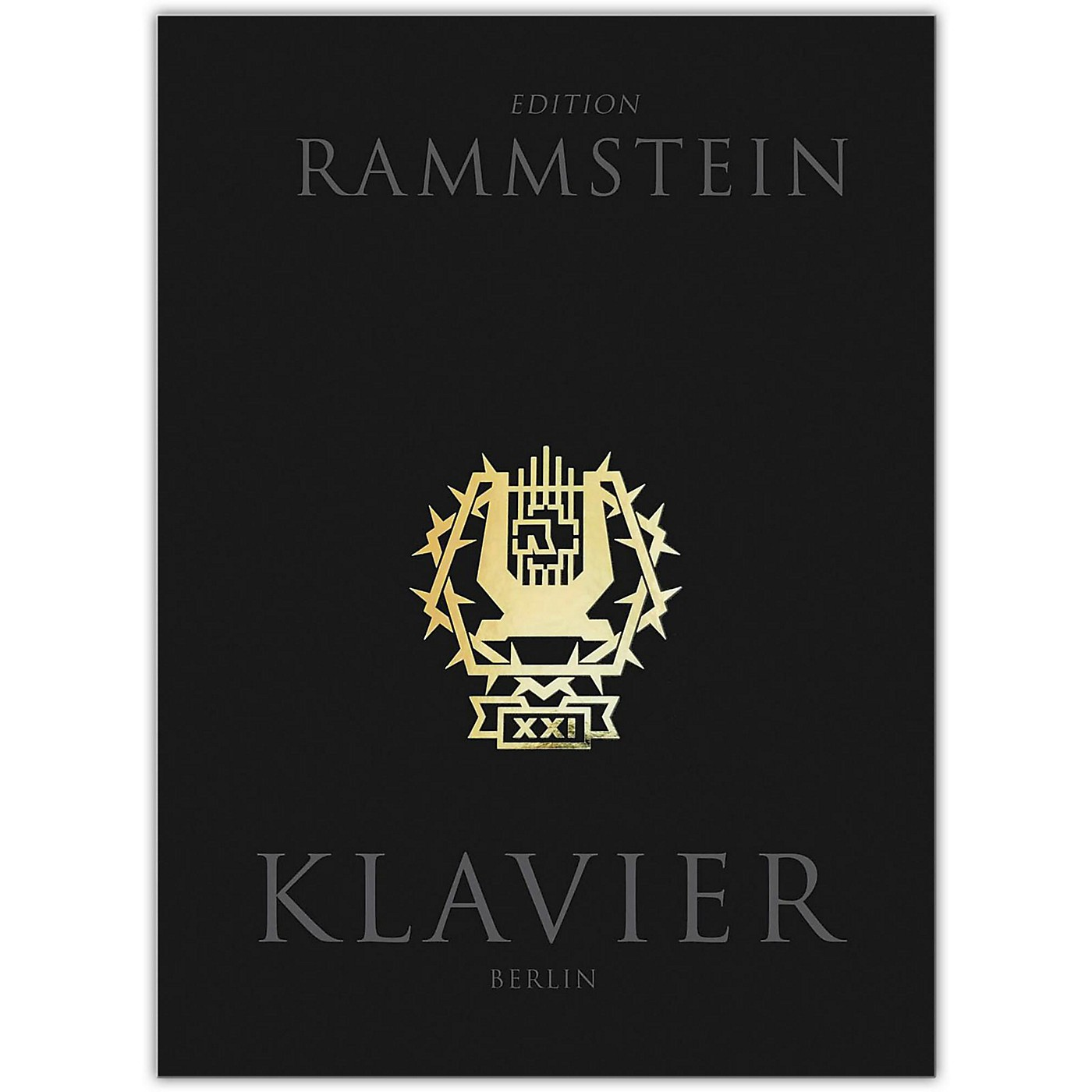Music Sales Rammstein - Klavier Piano/Vocal/Guitar Artist Songbook Hardcover with CD thumbnail