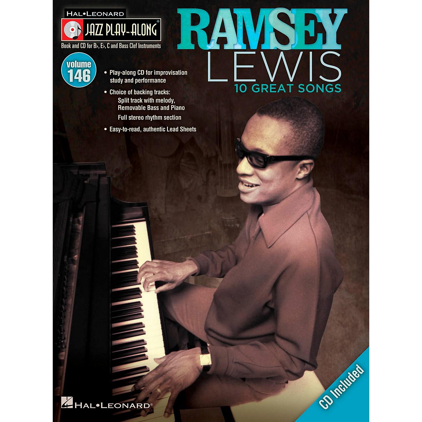 Hal Leonard Ramsey Lewis - Jazz Play-Along Volume 146 Book/CD thumbnail
