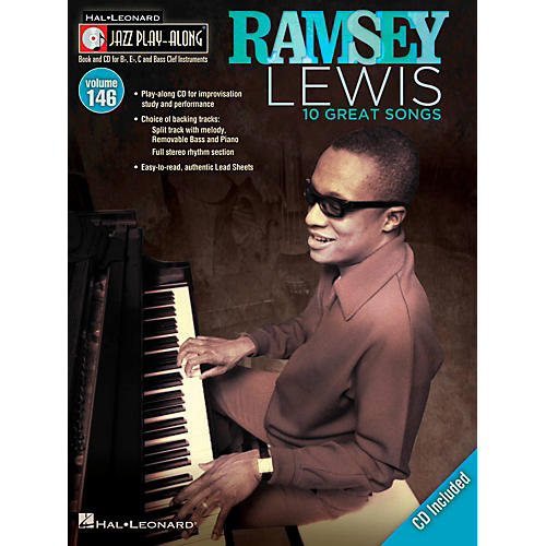 Hal Leonard Ramsey Lewis - Jazz Play-Along Volume 146 Book/CD thumbnail