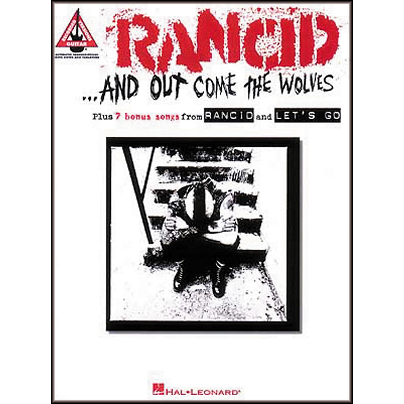 Hal Leonard Rancid And Out Come the Wolves Guitar Tab Songbook thumbnail