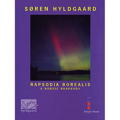 De Haske Music Rapsodia Borealis (for Trombone & Wind Orchestra) (Study Score) Concert Band Composed by Soren Hyldgaard thumbnail