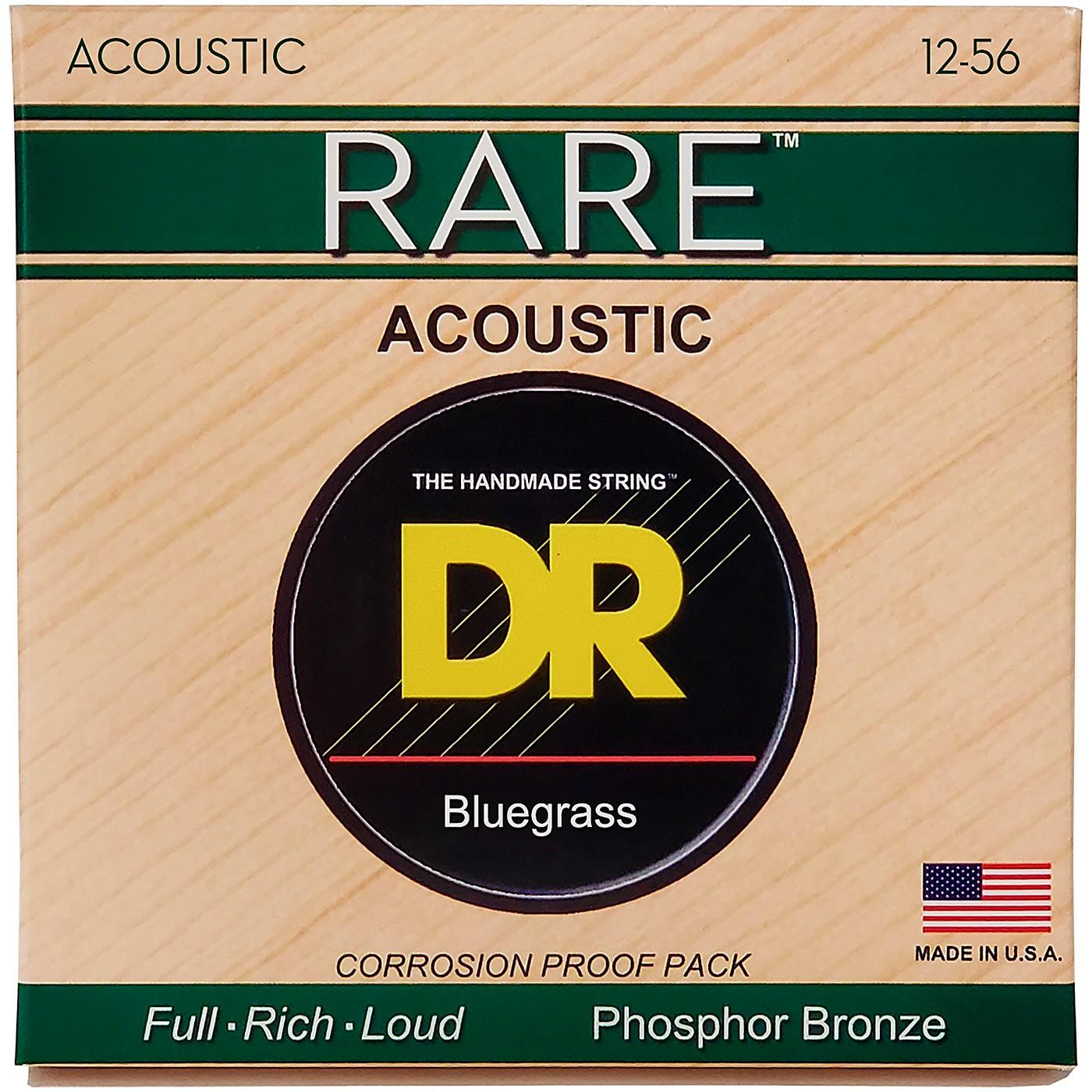 DR Strings Rare Phos Bronze Bluegrass Acoustic Guitar Strings thumbnail
