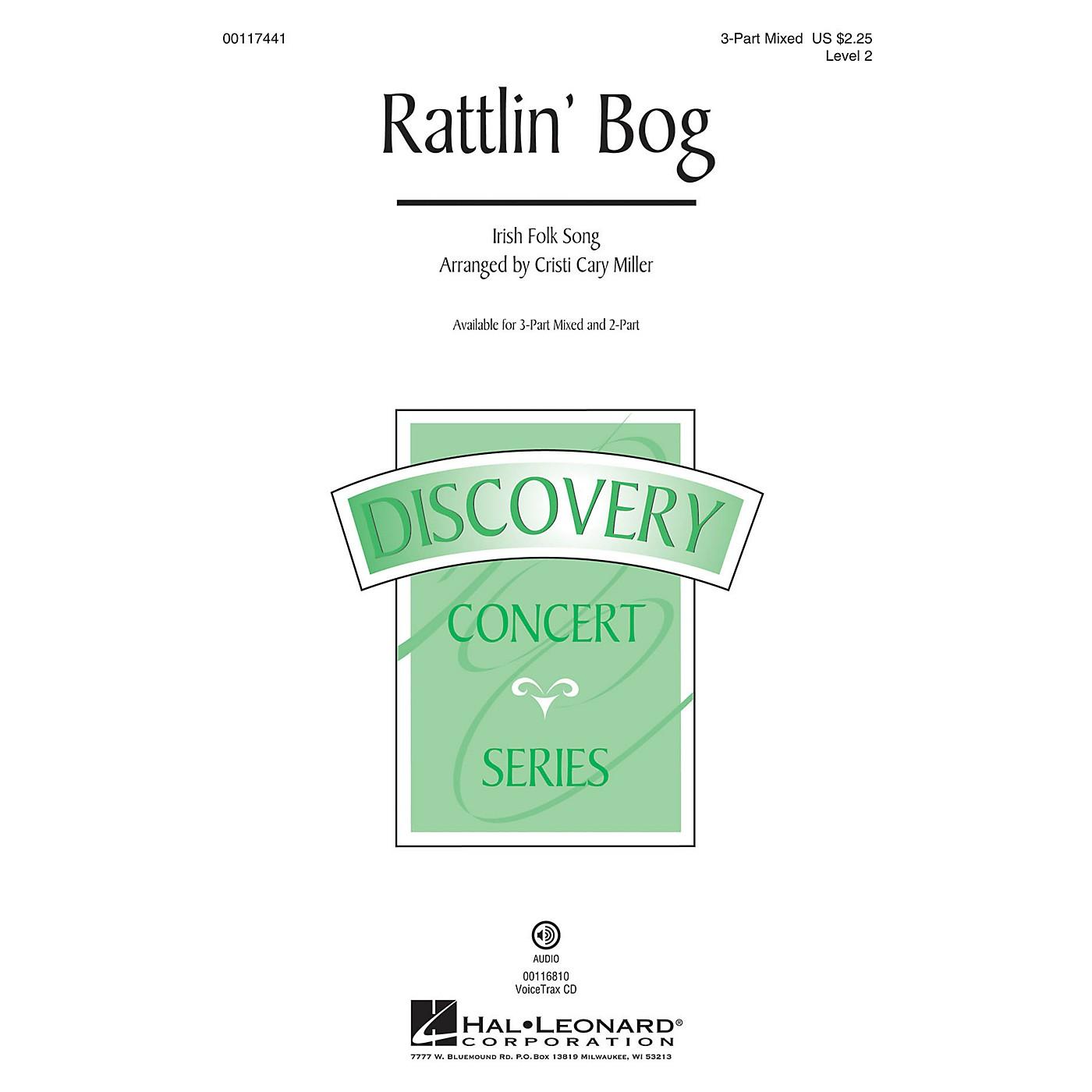 Hal Leonard Rattlin' Bog (Discovery Level 2) VoiceTrax CD Arranged by Cristi Cary Miller thumbnail
