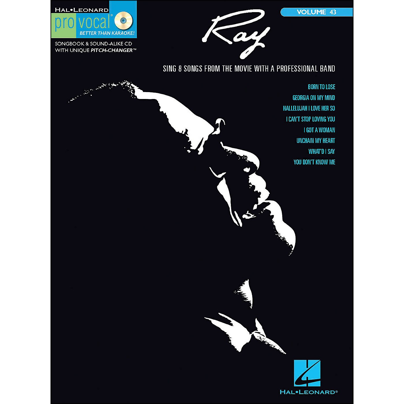 Hal Leonard Ray - Pro Vocal Songbook & CD for Male Singers Volume 43 thumbnail