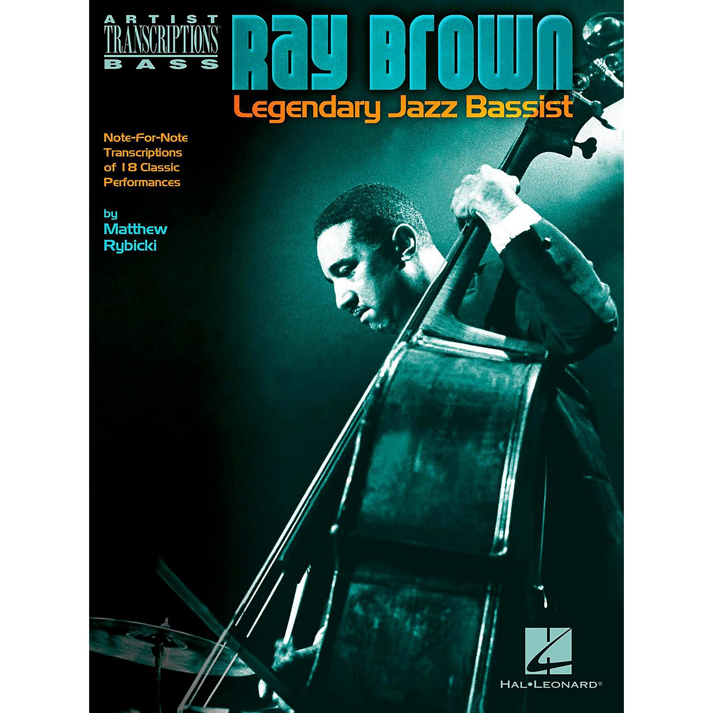 Hal Leonard Ray Brown - Legendary Jazz Bassist Artist Transcriptions thumbnail