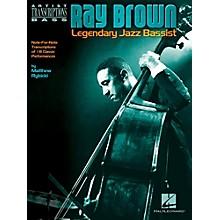 Hal Leonard Ray Brown - Legendary Jazz Bassist Artist Transcriptions