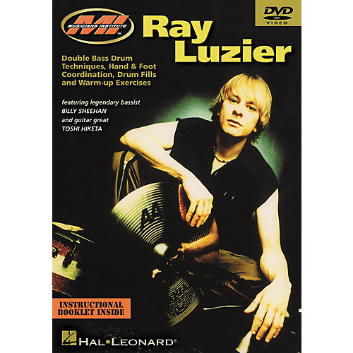 Musicians Institute Ray Luzier - Double Bass Drum Techniques, Hand and Foot Coordination, Drum Fills and Warm Up Exercises (DVD)-thumbnail
