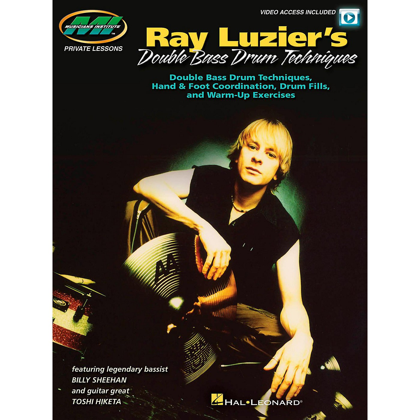 Hal Leonard Ray Luzier's Double Bass Drum Techniques - (Book/Video Online) thumbnail