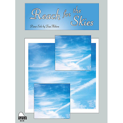 SCHAUM Reach For The Skies Educational Piano Series Softcover thumbnail