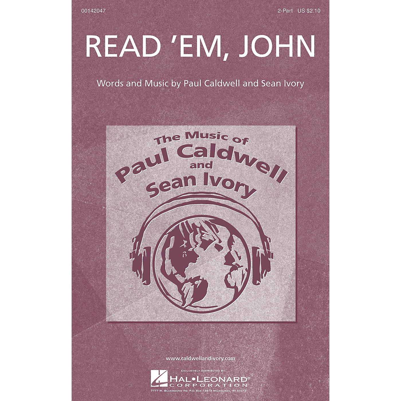 Caldwell/Ivory Read 'Em, John 2-Part composed by Paul Caldwell thumbnail