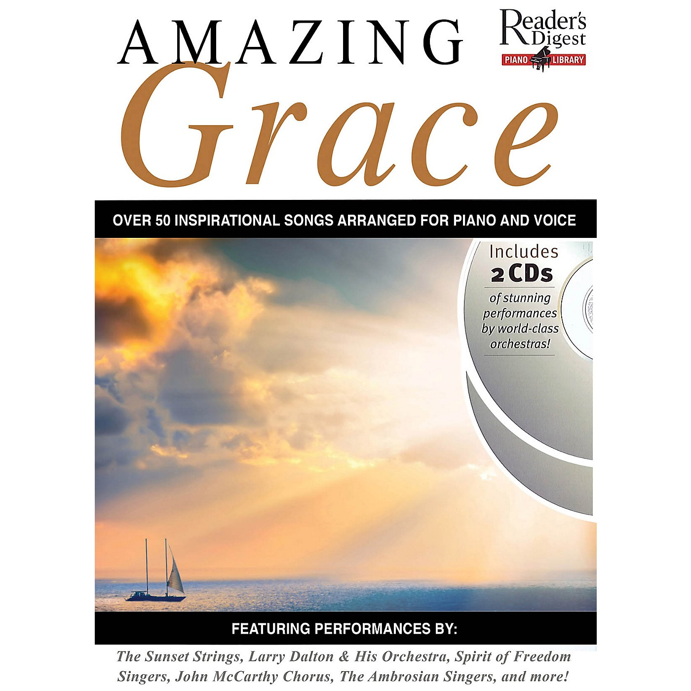 Music Sales Reader's Digest Piano Library: Amazing Grace Music Sales America Series Softcover with CD thumbnail