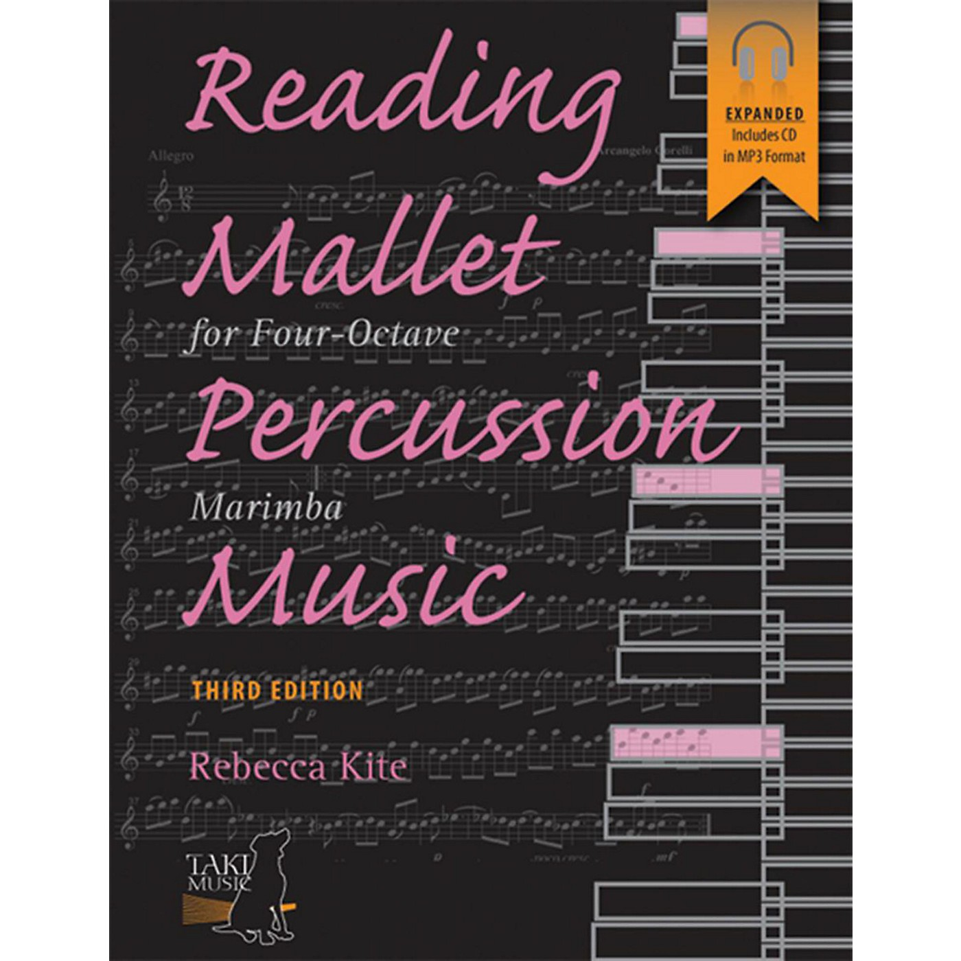 Alfred Reading Mallet Percussion Music For Four-Octave Marimba (Third Edition) Book & CD thumbnail
