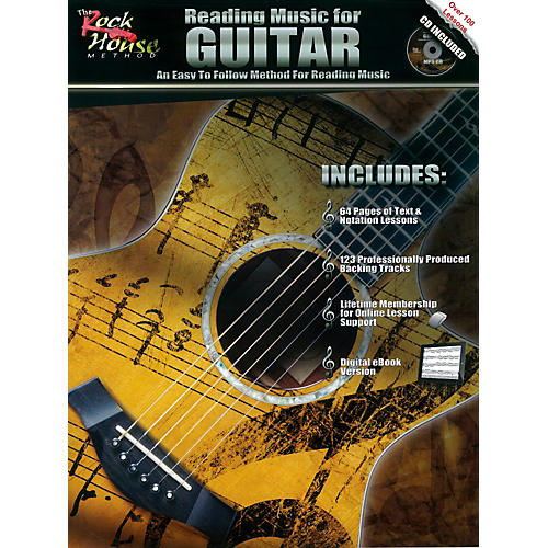 Rock House Reading Music For Guitar - An Easy to Follow Method for Reading Music (Book/CD) thumbnail
