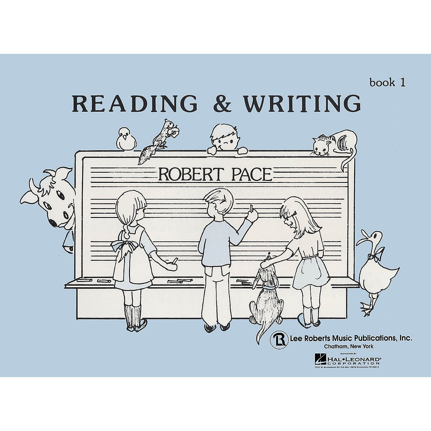 Lee Roberts Reading & Writing - Book 1 Pace Piano Education Series Softcover Written by Robert Pace thumbnail