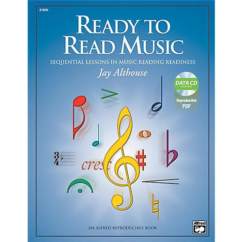 Alfred Ready to Read Music Book & Data CD thumbnail