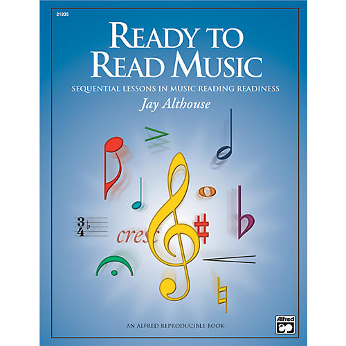 Alfred Ready to Read Music: Sequential Lessons in Music Reading Readiness Book thumbnail