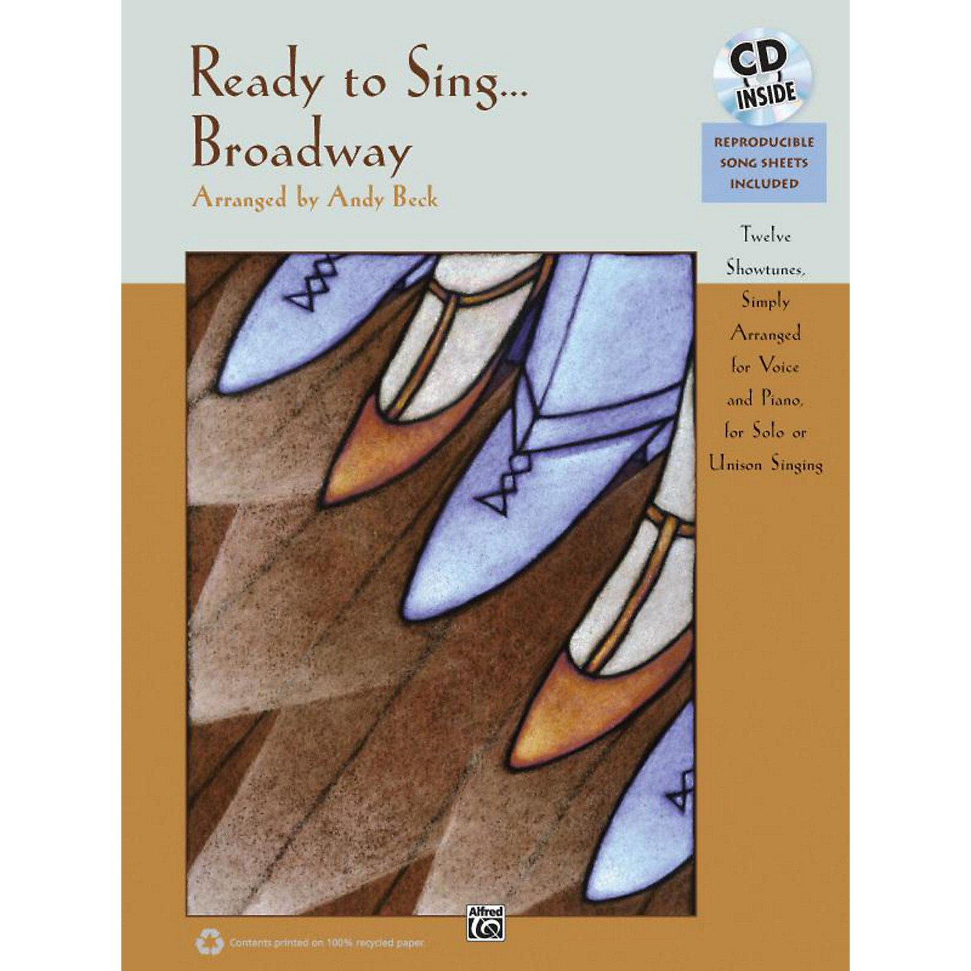 Alfred Ready to Sing . . . Broadway Book & CD thumbnail