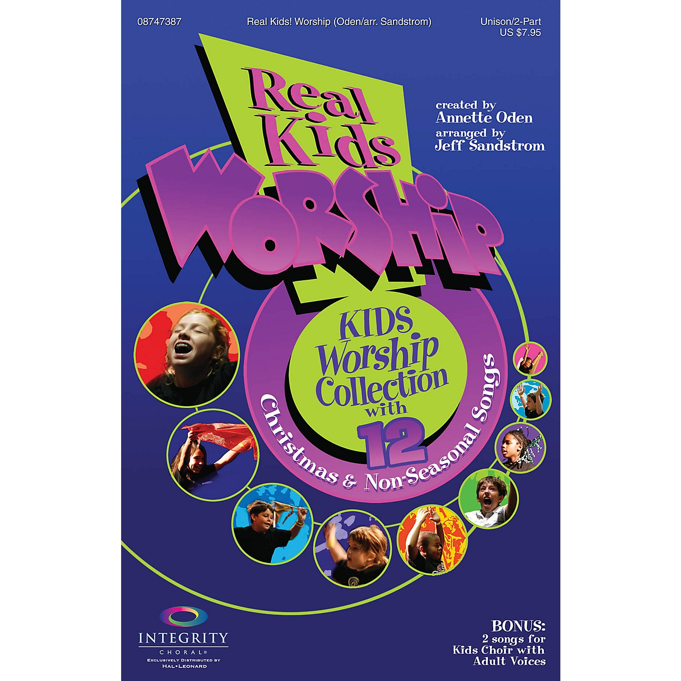 Integrity Choral Real Kids! Worship Unison/2-Part Choral Book Arranged by Jeff Sandstrom thumbnail