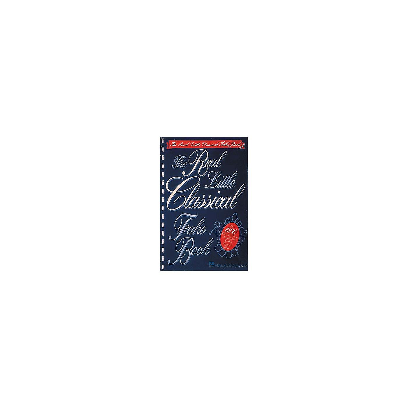 Hal Leonard Real Little Classical Fake Book thumbnail