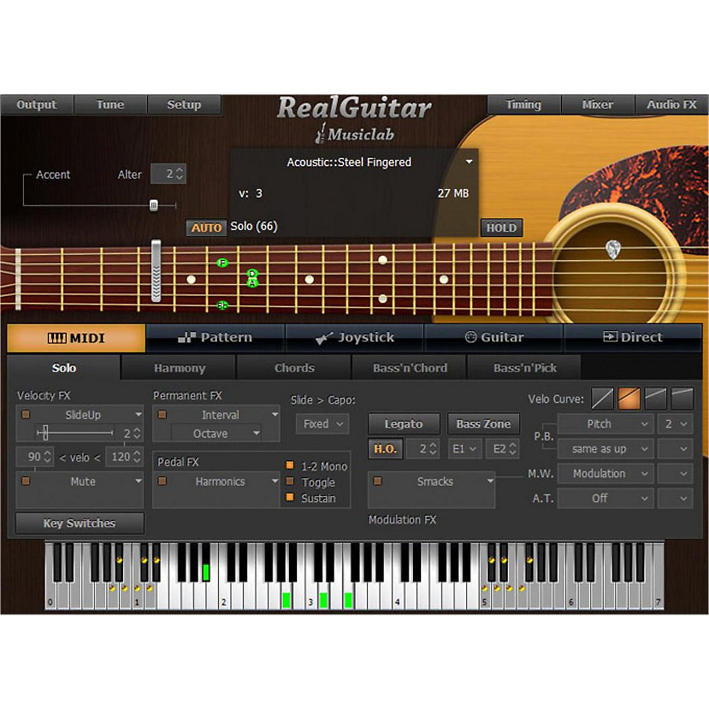 MusicLab RealGuitar Virtual Guitar Software Download thumbnail