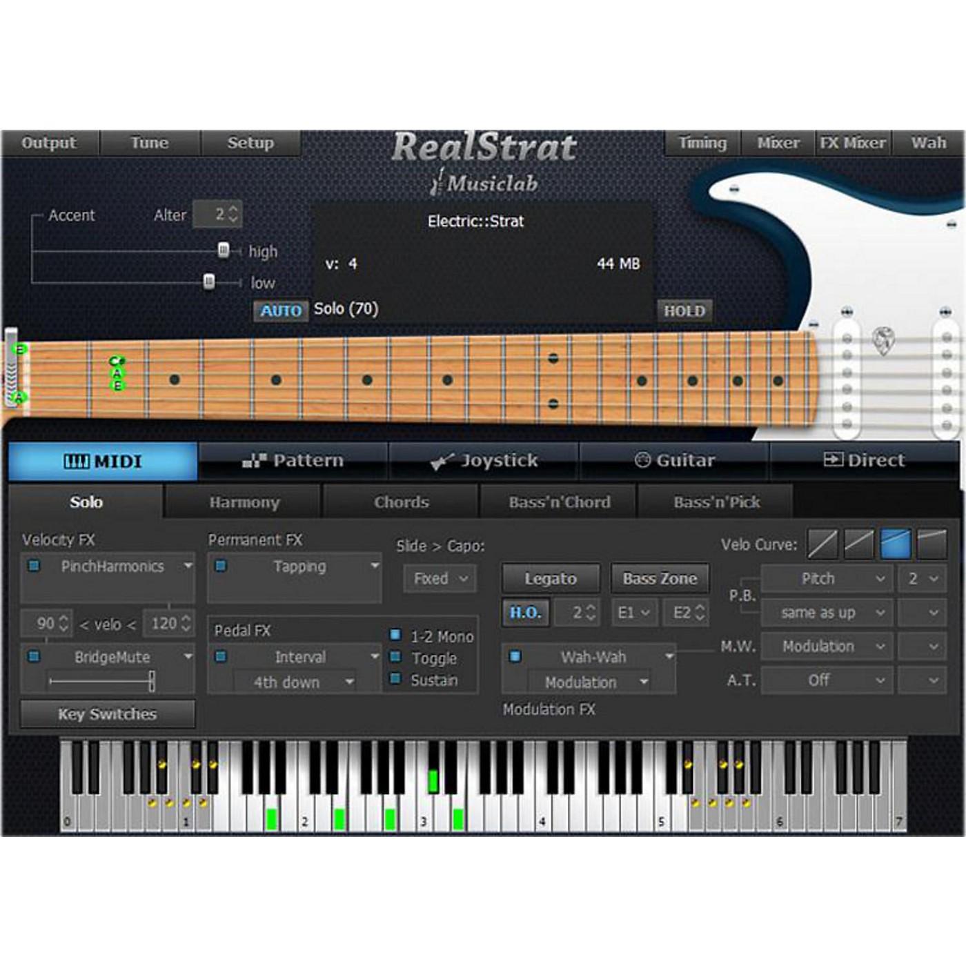 MusicLab RealStrat Virtual Guitar Software Download thumbnail