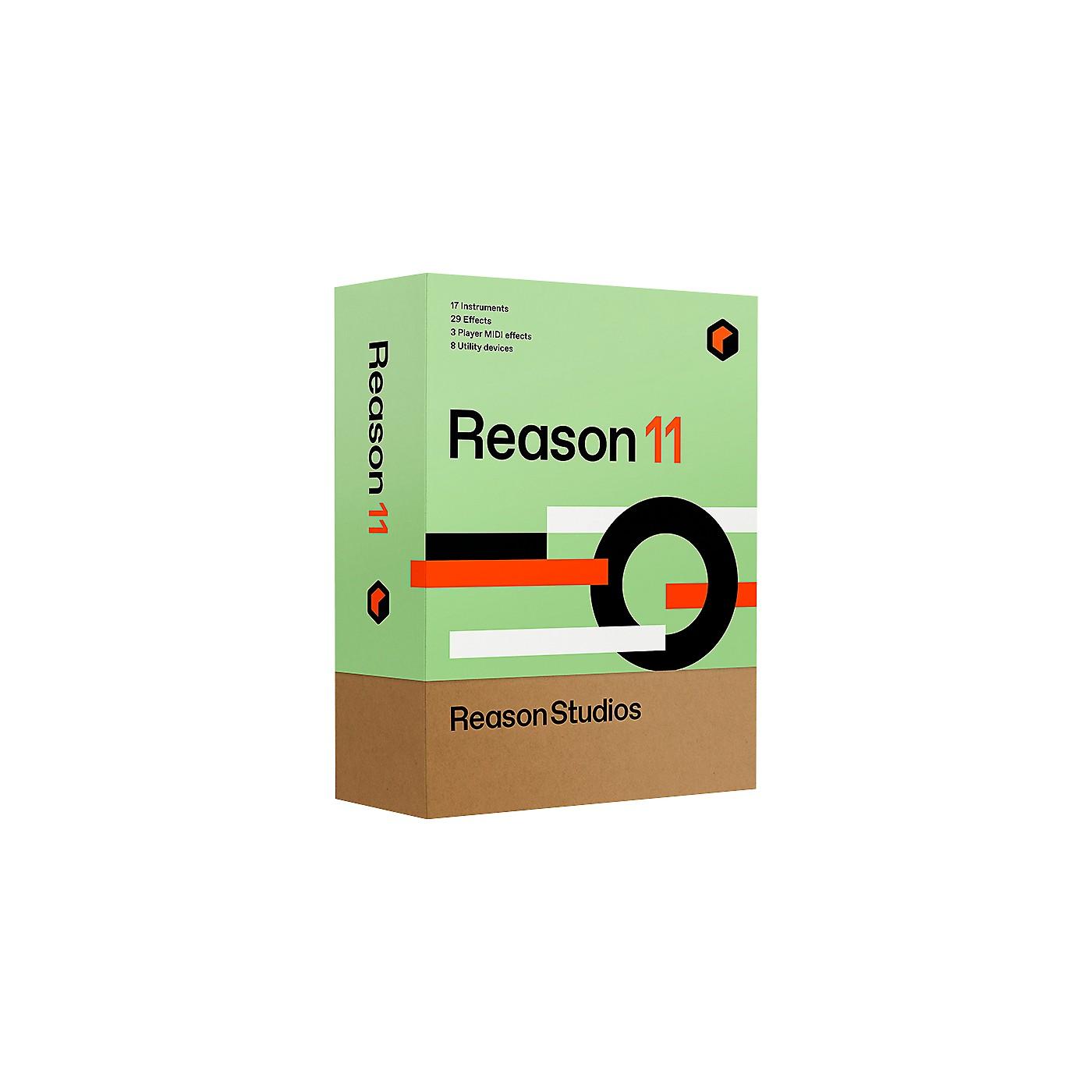 Reason Studios Reason 11 (Download) thumbnail