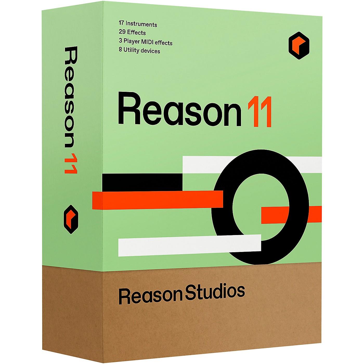 Reason Studios Reason 11 Student/Teacher (Download) thumbnail