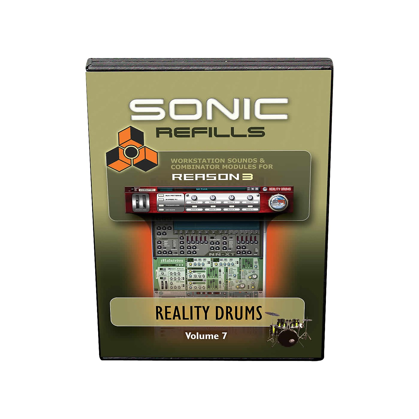 Sonic Reality Reason 3 Refills Vol. 07: Reality Drums thumbnail