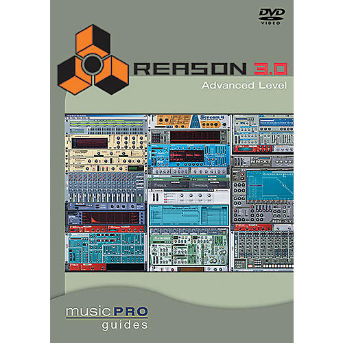 Hal Leonard Reason 3.0 Advanced Level DVD Music Pro Guide Series thumbnail