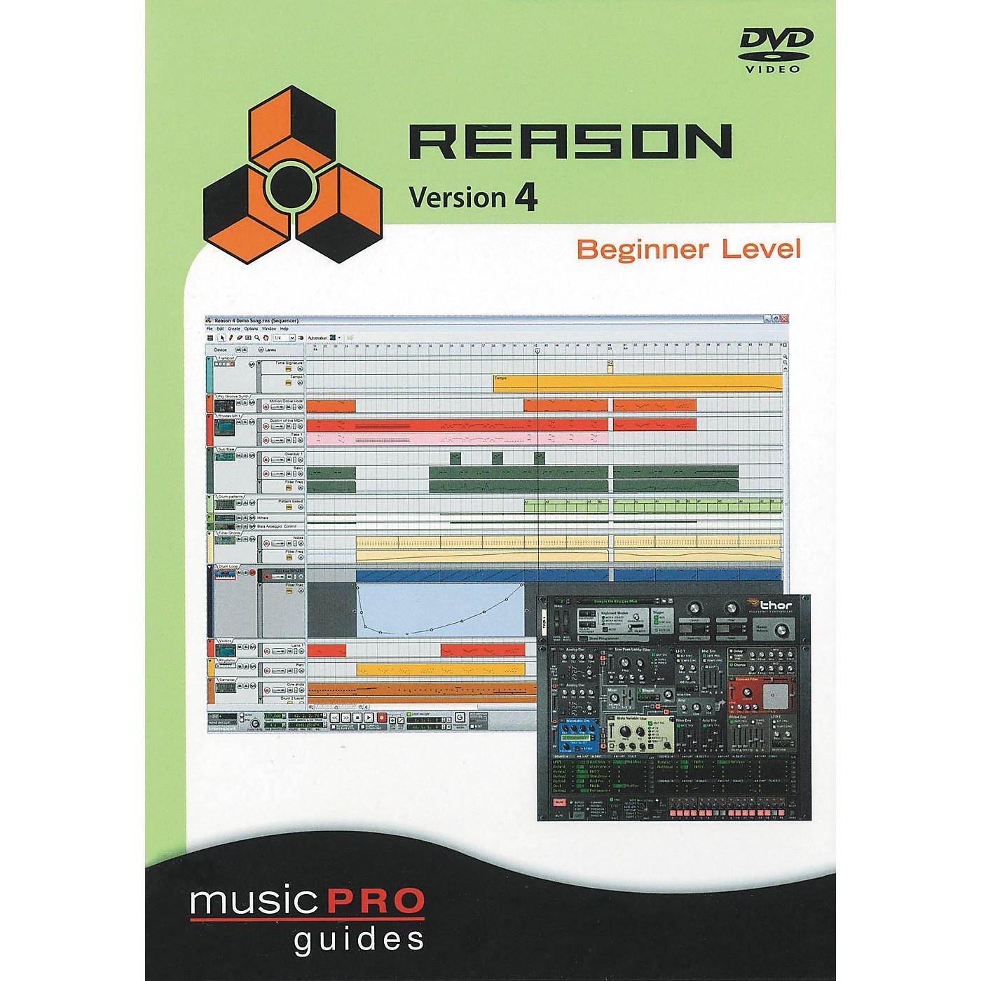 Hal Leonard Reason 4 Beginner Level - Music Pro Series (DVD) thumbnail