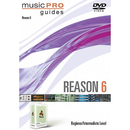 Hal Leonard Reason 6 Beginner/Intermediate Music Pro Guides DVD thumbnail