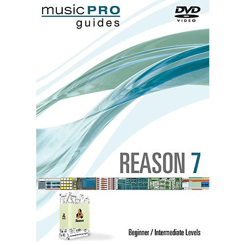 Hal Leonard Reason 7 Beginner/Intermediate DVD Music Pro Series thumbnail
