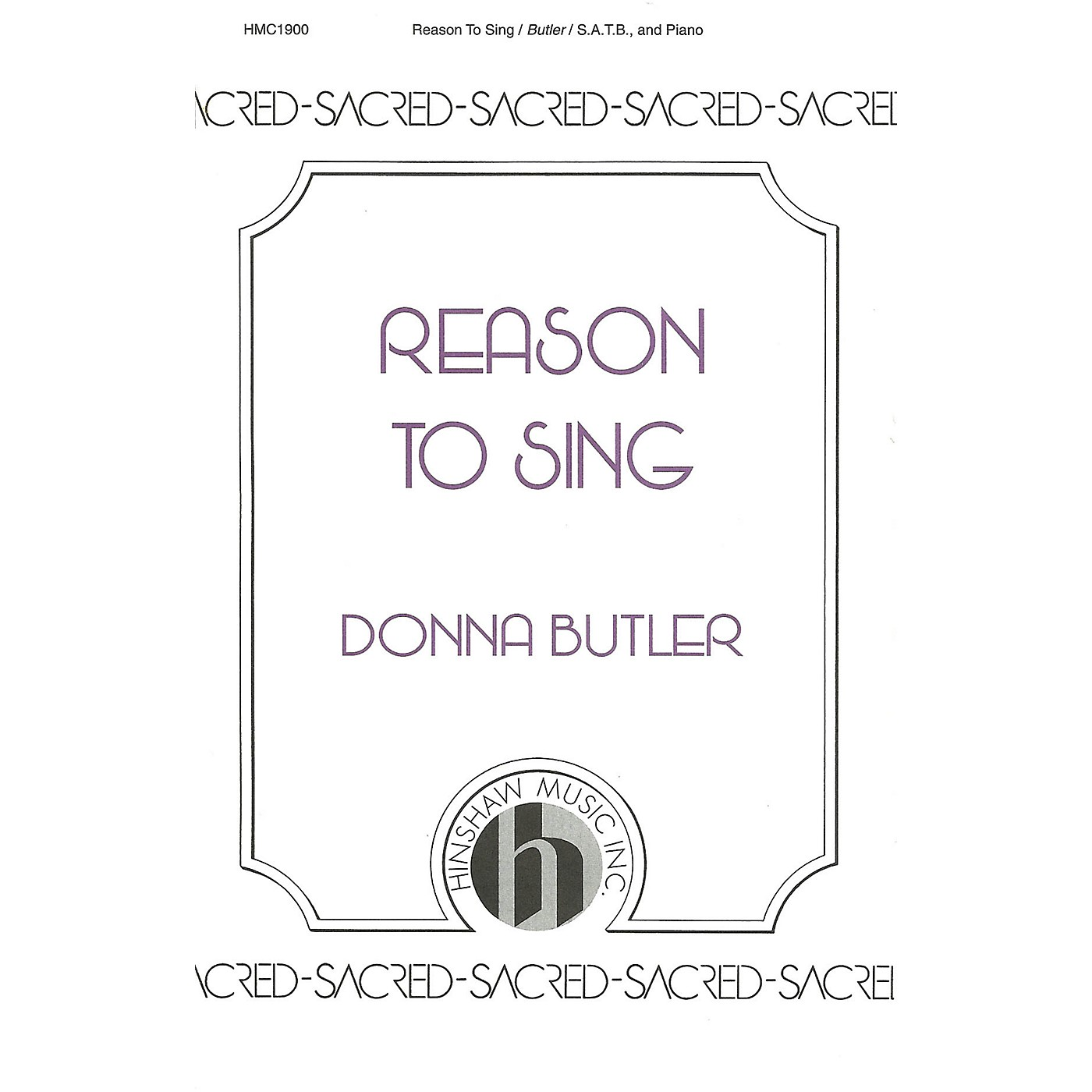 Hinshaw Music Reason to Sing SATB composed by Donna Butler thumbnail