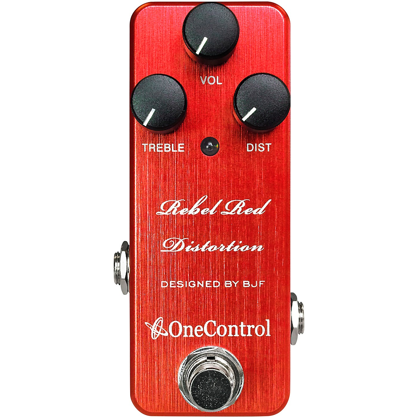 One Control Rebel Red Overdrive Effects Pedal thumbnail